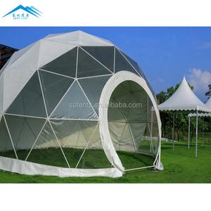 High End Market Tent Prefab Fiberglass Dome House Polystyrene For Sale