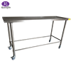 With 304 stainless steel table corpse cart corpse trolley mortuary cart