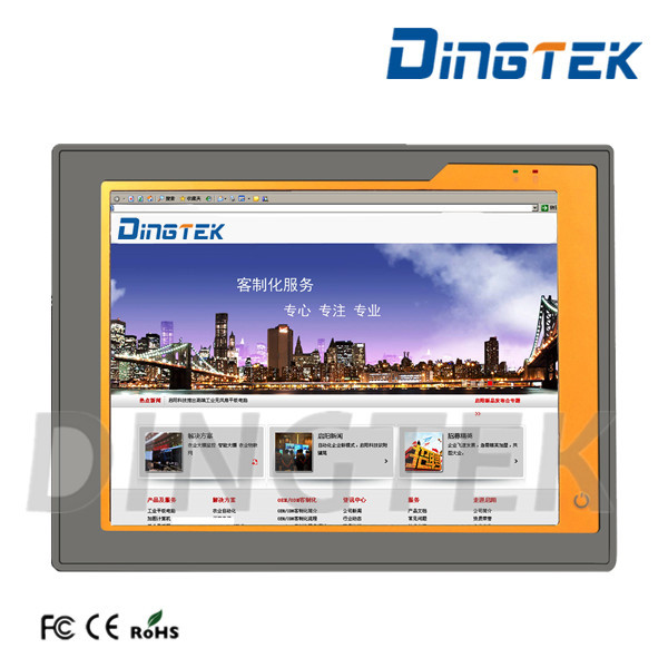 "DT-P104-I Industrial fanless i3/i5/i7 CPU 10.4"" touch screen panel pc 4 ethernet ports motherboard"