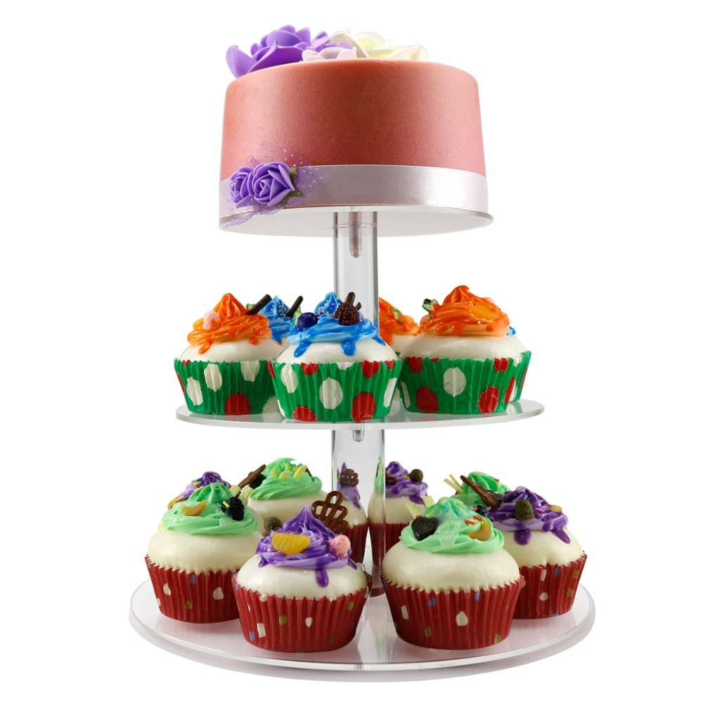 3 tier cake stand cupcake topping wholesale factory directly individual cupcake stand