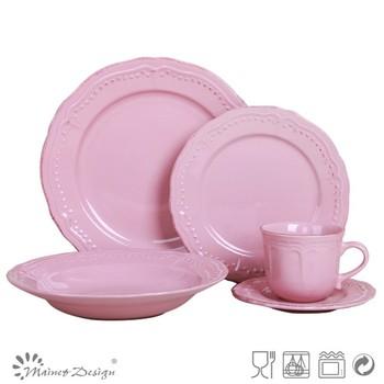 embossed pastel pink color ceramic dinnerware  sc 1 st  Alibaba & Embossed Pastel Pink Color Ceramic Dinnerware - Buy Embossed ...