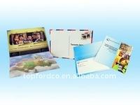 Shaped CD duplication printing service