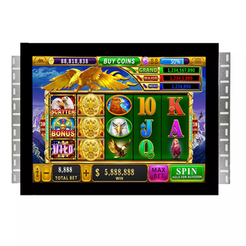 17 inch POG WMS game monitor for game machine casino