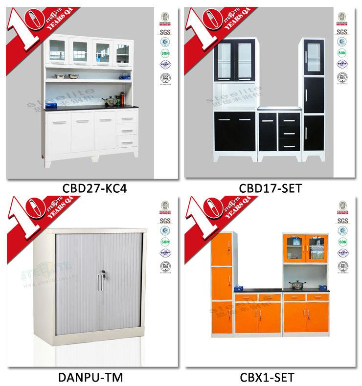 Steelite kitchen cabinet drawer aluminium kitchen cabinet for Ready made kitchen drawers
