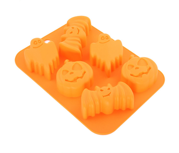 Pumpkin And Bat Shape Cookie Mold Cake For Bakery Tools
