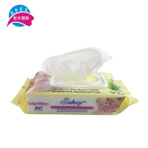 Raw material biodegradable machine price wet wipes from China