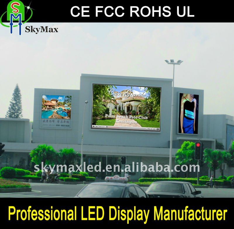 IP65/IP54 Outdoor Full Color Electronic LED Message Center