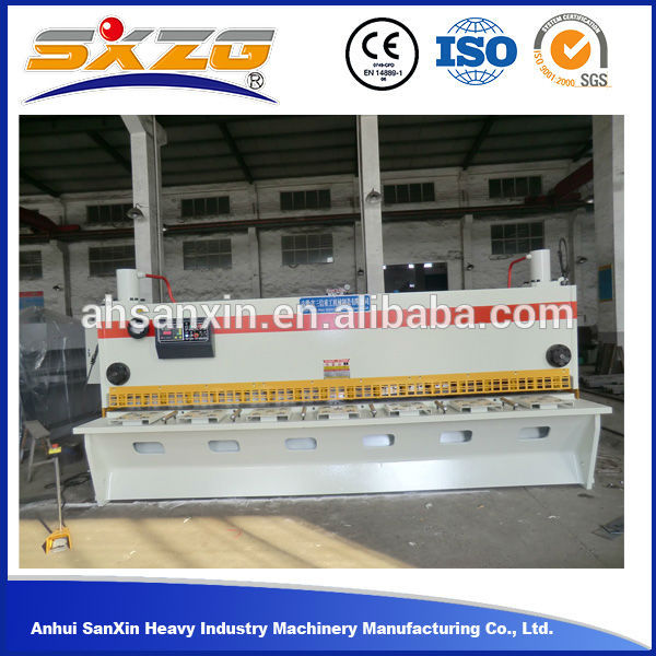 QC11Y 30*4000 Manual Hand Hydraulic Cutting Machinery