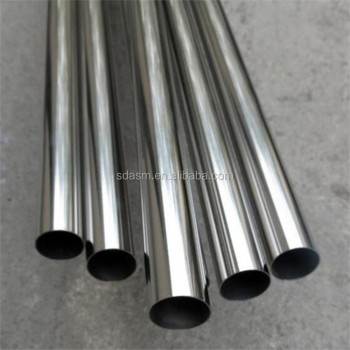 Round SUS201 304 316 310S S31803 Stainless Steel Pipe for Decoration