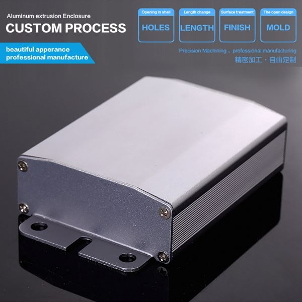 Electronical Aluminum Junciton Box Case for Wireless and Network TV Box Enclosure
