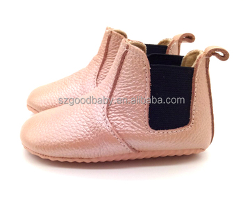 9362517a7e3f9 Rose Gold Italian Winter Booties Moccasins Soft Leather Baby Shoes - Buy  Leather Baby Shoes,Winter Baby Moccasins,Rose Gold Baby Booties Product on  ...