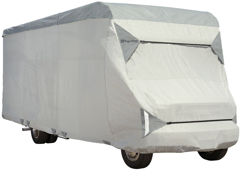 """EXPEDITION by Eevelle Class C RV Cover - fits 26'-29' - 366""""L x 105""""W x 108""""H - Gray"""