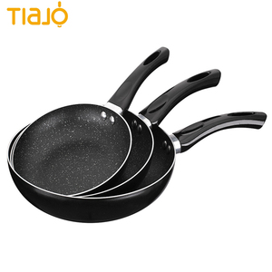 China wholesales aluminum nonstick coating frying pan with bakelite handle