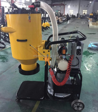 industrial construction concrete floor vaccum cleaner