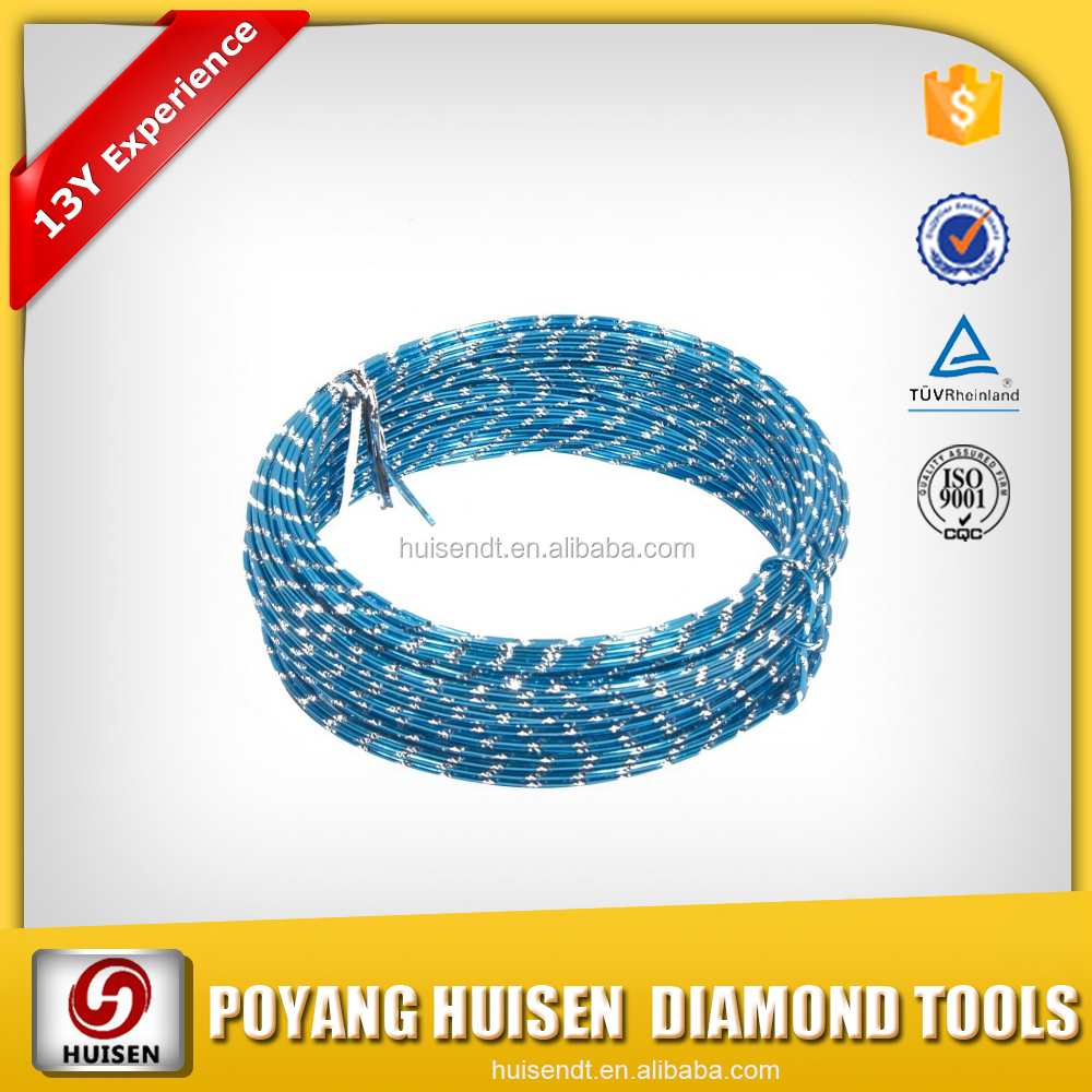 Diamond Wire Saw Diamond Wire Rope For Stone And Concrete Cutting ...
