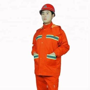 durable protective men's basic work uniform