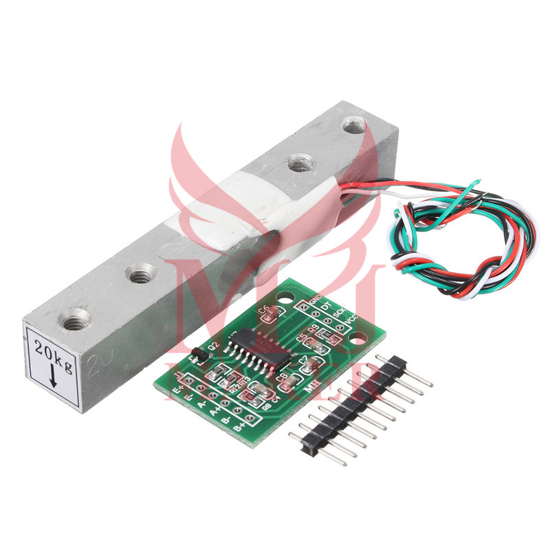 Aihasd Digital Load Cell Weight Sensor1 5 10 2kg Portable Electronic Kitchen Scale HX711 Weighing Sensors Ad Module for Arduinos
