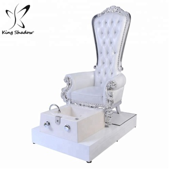 Luxury nail salon equipment manicure pedicure chair throne pedicure chair