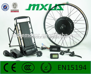 "The Best China 26"" Rear Wheel 48V 1000W Electric Bike Bicycle Motor Conversion Kit oral protect"