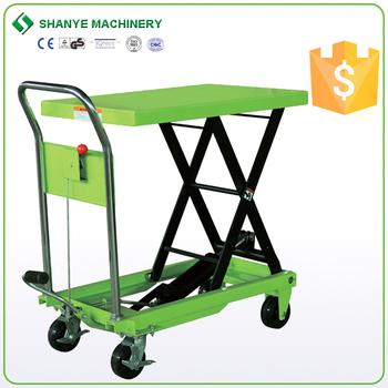 Charmant Hydraulic Small Mechanical Lifting Mechanisms Lift Table
