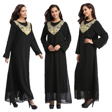 Groothandel nieuwe ontworpen OEM service Dubai <span class=keywords><strong>zwarte</strong></span> <span class=keywords><strong>abaya</strong></span> islamitische kleding vrouw <span class=keywords><strong>abaya</strong></span>