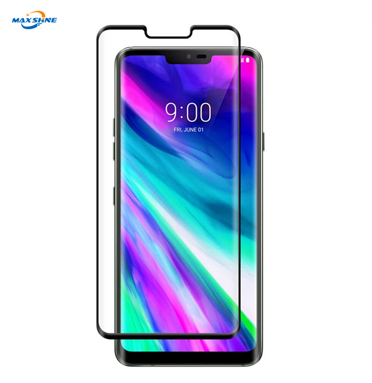 Maxshine Clear Tempered Full 3D Curved Screen Protector For Lg G8