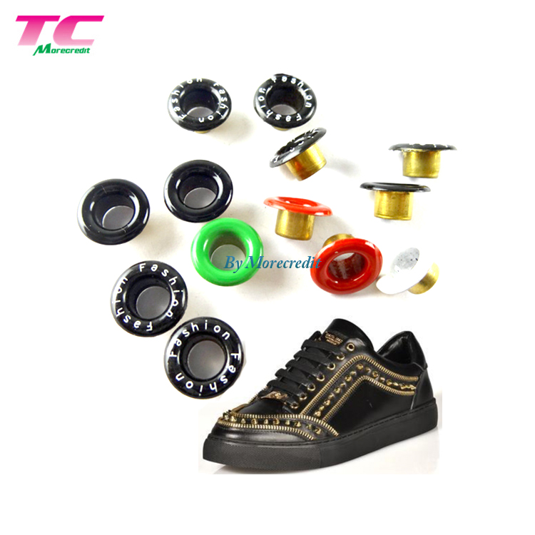 Custom High Quality Brass Metal Eyelet Grommet Garment Shoe Accessories Metal Eyelet For Bag