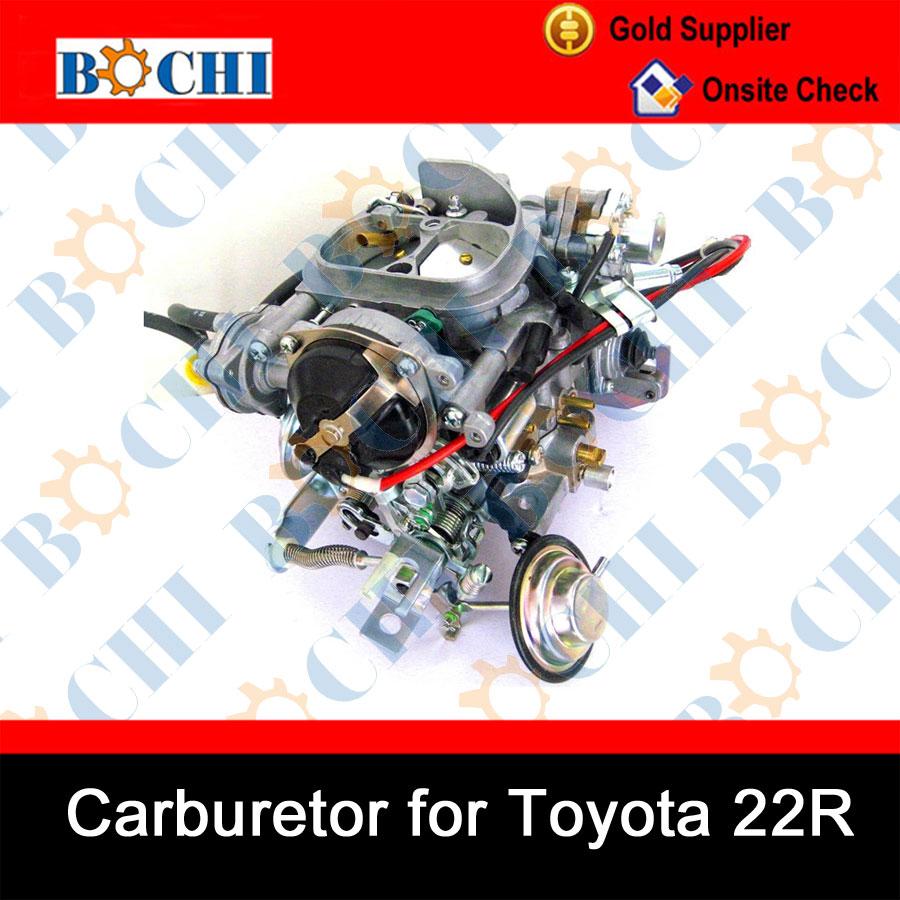 Coche japonés carburador de Toyota 22R--Identificación del