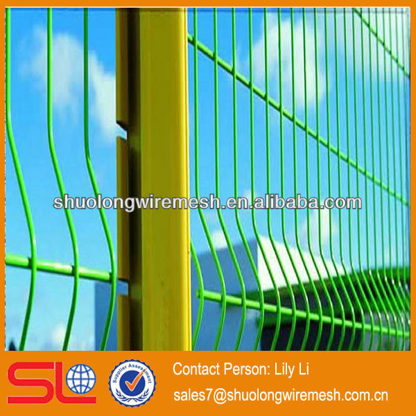 Holland Electric/PVC Wavy/Protection Wire Mesh Fence