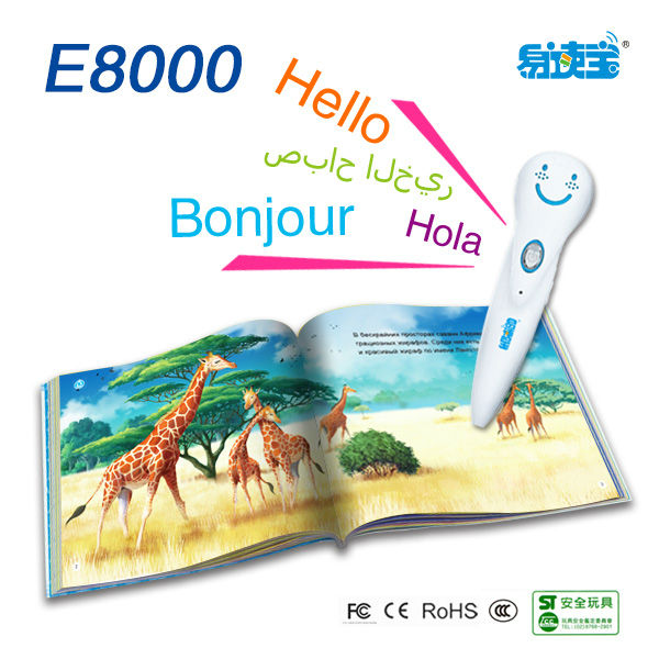 Portalble education point reading pen, Novelty digital talking pen for kids