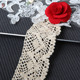 5 CM Cotton Gold Bobbin Trim Pattern Crochet Lace