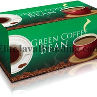 Exotico Green Coffee With White Kidney Bean