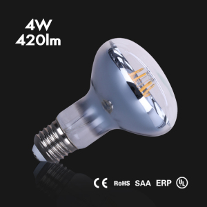 high quality E27 led R80 filament bulb mushroom lamps led