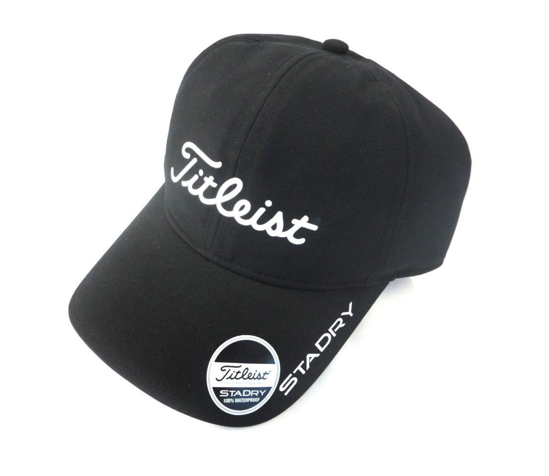 1051fb2c5d4a5 Buy Titleist StaDry Waterproof Golf Cap Black Fully Adjustabl in ...