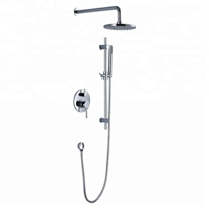 3 Way Euphoria concealed bath and shower mixer shower kit