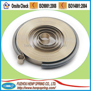 Extension Load Type Coils Constant Force Spring