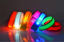 LED bracelets band for event party decoration glowing bracelet running gear LED lights wrist ring