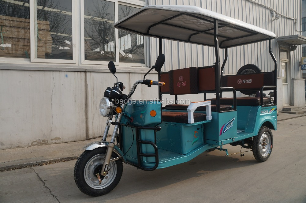 Electric tricycle and cargo truck tricycle,electric rickshaw for adult for sale