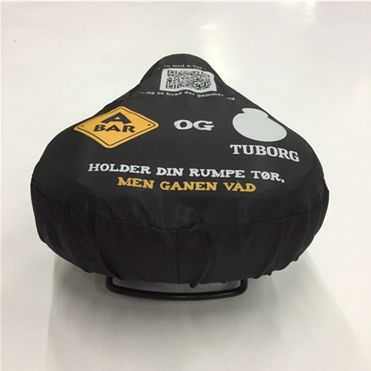 Polyester Bicycle Sleeve Advertising Bike Seat Cover Bags