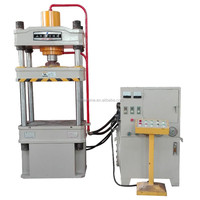 Aluminum Foil Container 100T Four Pillars Hydraulic Power Press Machine