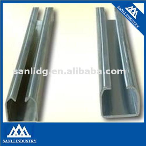 Peso de tubo cuadrado gi secci n u perfil de acero - Tubo cuadrado acero ...