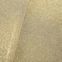 Customized Wholesale Shiny Polyester Fabric Glitter Faux Leather