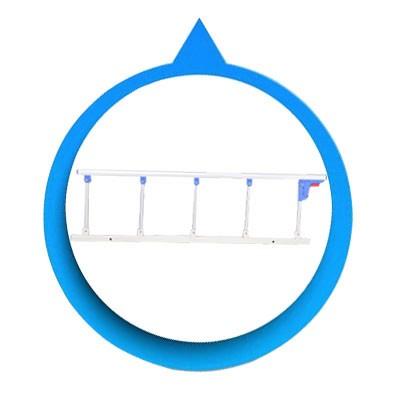Barato de plástico ABS equipo médico 1 función cama de hospital accesorio