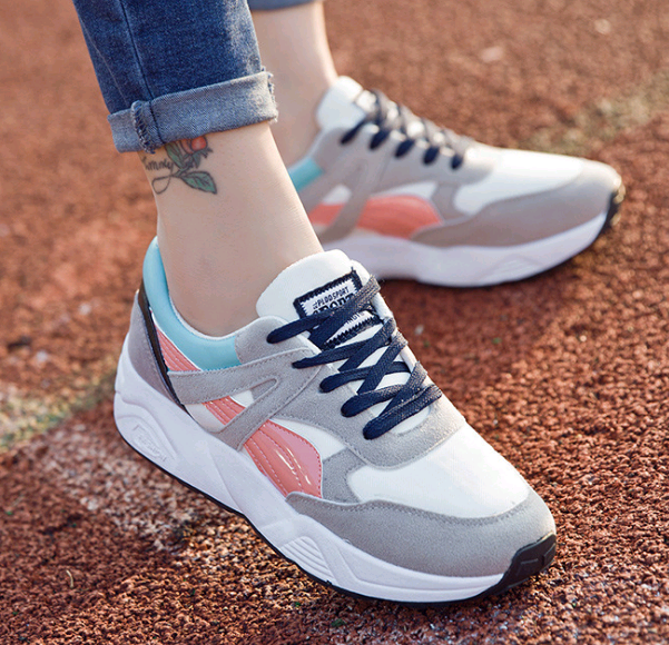 New Design Trendy Lace Up Sneaker Women
