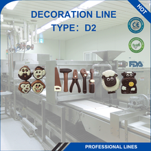 Wholesale Hot Sale Custom Machine Decoration Line Baby Face Chocolate