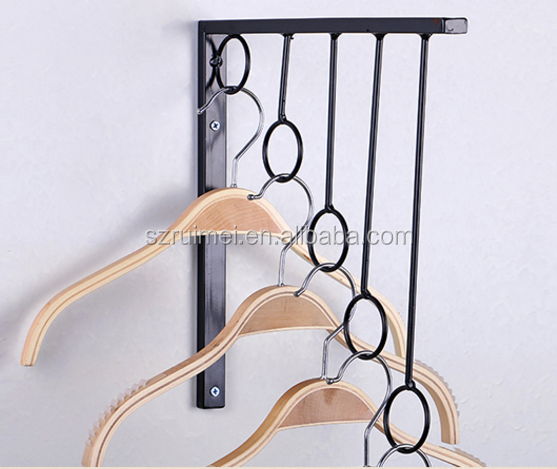 Metal Retail round clothing display racks used clothing racks for sale