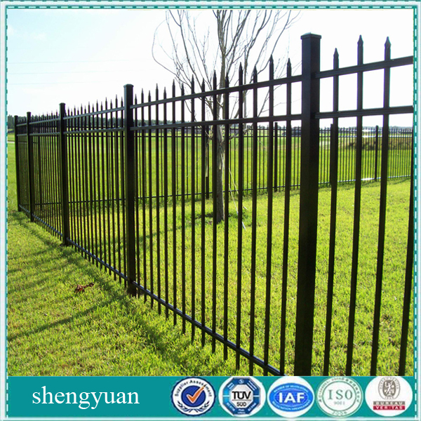 Colorful Double Anti-Corrosion Aluminum Picket Fence