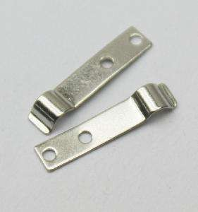 Custom Sheet Metal Stamped Parts Flat Metal Spring Clip