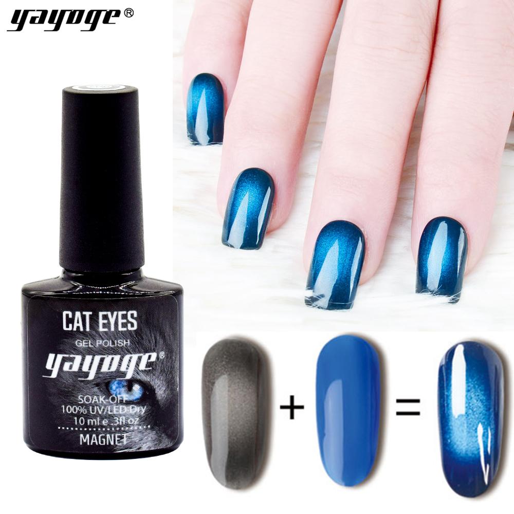 Yayoge New Product Color Magnetic Cat Eye Gel Polish UV Led Wholesale Beauty Supply 3D Magic glitter color uv gel polish фото