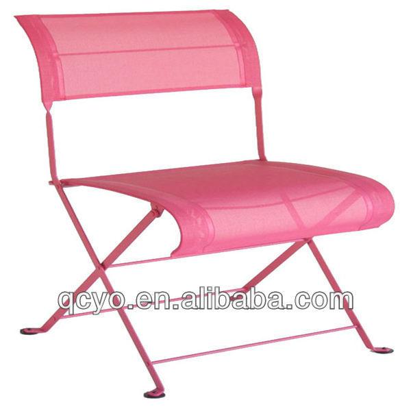 Elegant Clear Acrylic Folding Chairs